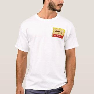 T-shirt logo Henley d'automne d'EatAnimals.com