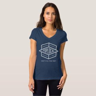 T-shirt Logo inverse de PopLocal