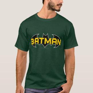 T-shirt Logo jaune du symbole   de Batman et noir nommé