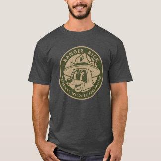 T-shirt Logo kaki de Rick de garde forestière de Rick | de