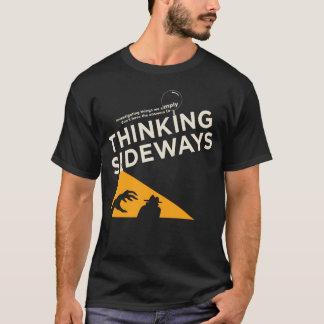 T-shirt Logo latéral de pensée 2016 du Podcast des hommes