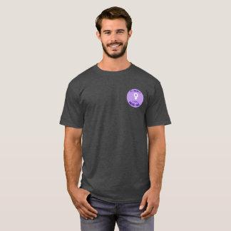 T-shirt Logo nerd de filles de soutien de T des hommes