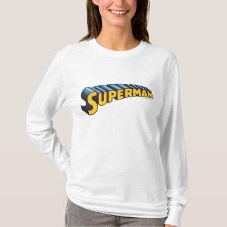T-shirt Logo nommé classique de Superman |