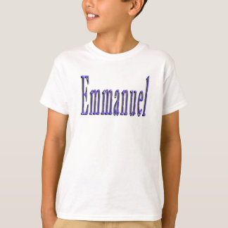 T-shirt Logo nommé d'Emmanuel,