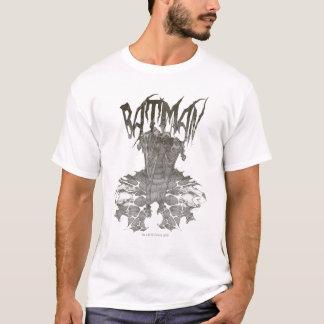 T-shirt Logo nouveau graphique de beige de croquis de