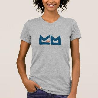T-shirt Logo - orange et bleu