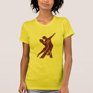 T-shirt Logo rouge crépité