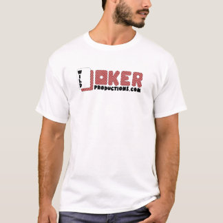 T-shirt Logo sauvage de productions de joker