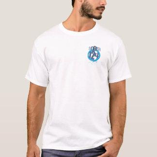 T-shirt Logo Sober124 avec le pêcheur à la ligne