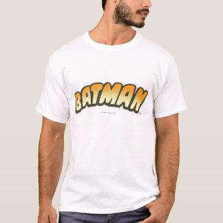 T-shirt Logo tramé orange de Batman |