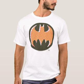 T-shirt Logo tramé rouge du symbole | de Batman