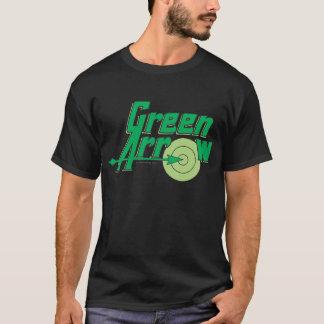 T-shirt Logo vert de flèche