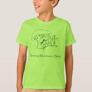 T-shirt Logo vert de voie HMP