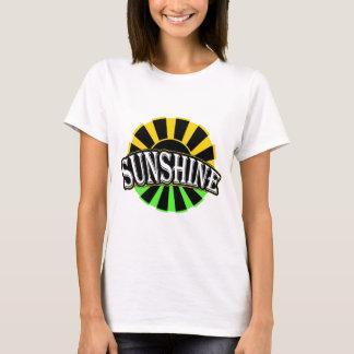 T-shirt Logo vert noir de soleil