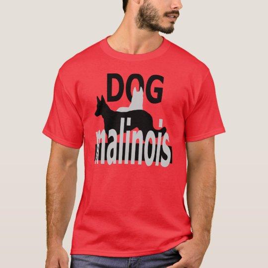 T-shirt logodogmalinois4