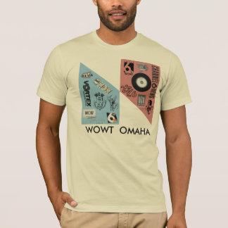 T-shirt Logos vintages de WOWT