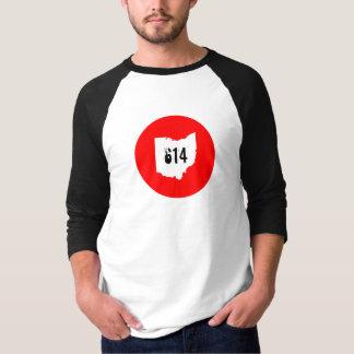 T-shirt L'Ohio 614 3/4 douille