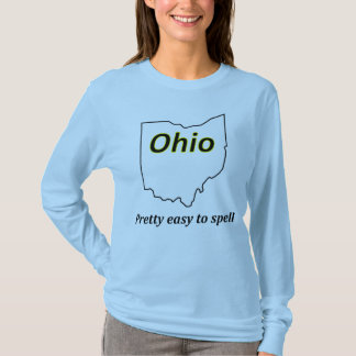 T-shirt L'Ohio - assez facile à orthographier