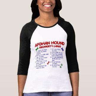T-shirt Lois 2 de propriété de lévrier afghan