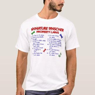 T-shirt Lois 2 de propriété de Pinscher miniature