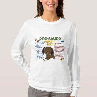 T-shirt Lois 4 de propriété de teckel