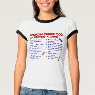 T-shirt Lois AMÉRICAINES 2 de propriété de CHIEN ESQUIMAU