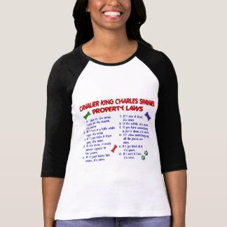 T-shirt Lois CAVALIÈRES 2 de propriété d'ÉPAGNEUL de ROI