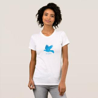 T-shirt L'oiseau bleu du bonheur