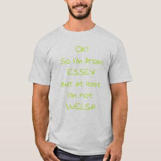 T-shirt L'OK ainsi moi suis d'Essex (M1)