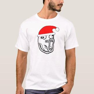T-shirt LOL Père Noël - meme d'Internet de Noël
