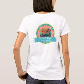 T-shirt L'ombre appelle la valise