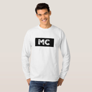 T-shirt longtemps gainé transparent de MC