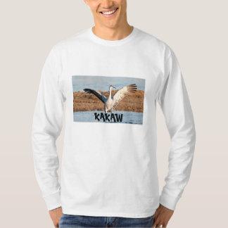T-shirt Longue chemise de douille de la personnalisation