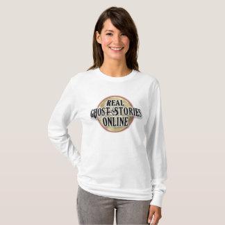 T-shirt Longue chemise de la douille des femmes