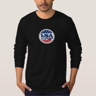 T-shirt Longue chemise de la douille des hommes