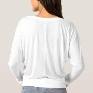 T-shirt Longue chemise de point-virgule de douille