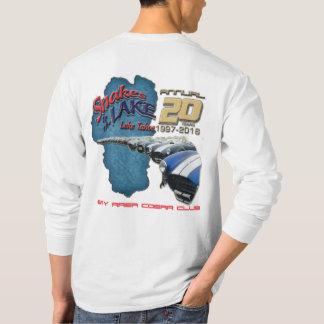 T-shirt Longue douille de 2016 serpents * (AVANT et dos)