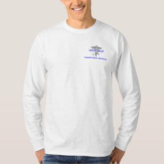 T-shirt Longue douille de base confortable, décontractée