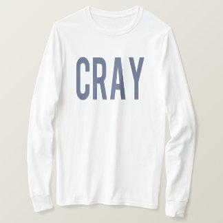 T-shirt Longue pièce en t de douille de CRAY