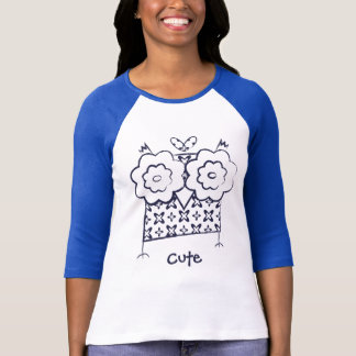 T-shirt Longues chemises personnalisées de douille de