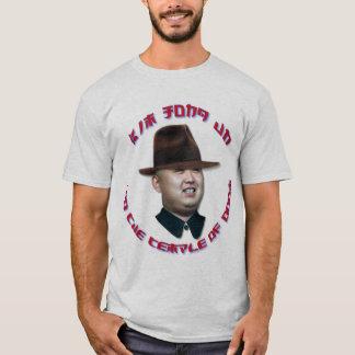 T-shirt L'ONU de Kim Jong et le temple du sort malheureux