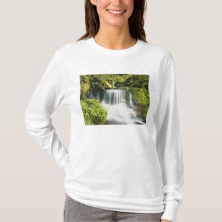 T-shirt L'Orégon, cascade dans le ressortissant de
