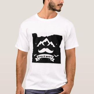 T-shirt L'Orégon le maintiennent étrange