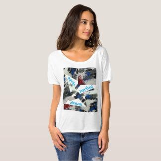 T-shirt L'original est descendu la pièce en t d'ami de