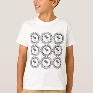 T-shirt L'orignal de Taureau sonne l'amusement