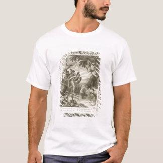 T-shirt L'ouatine d'or gagnée par Jason (gravure)