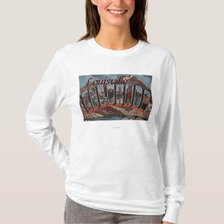 T-shirt Louisville, le Colorado - grandes scènes de lettre
