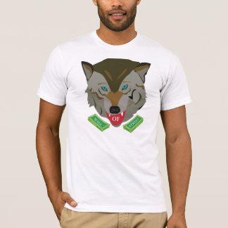 T-shirt Loup de Wallstreet