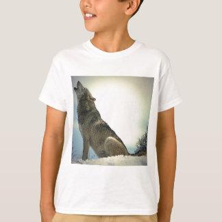 T-shirt Loup d'hurlement