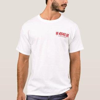 T-shirt Loup-garou Café (poche de site Web/dos de logo)